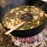 柳家 - メインの熊鍋