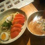 博多らぁめん 斗樹 - トマトチーズつけ麺