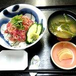 女川魚市場食堂 - 料理写真:ネギトロ丼