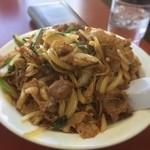 中華料理 太華 - 肉炒め焼飯