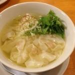 薫風 - 比内地鶏わんたん ¥790