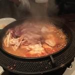45631514 - 鳥すき焼き鍋