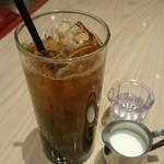 RIGOLETTO ROTISSERIE AND WINE - アイスコーヒー。