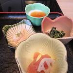 博多華味鳥 - 小鉢&デザート