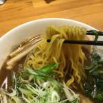 麺厨房 かくれ屋 - 魚介醤油