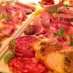 シトリーノ - 前菜の盛り合わせ