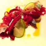 シトリーノ - 鮮魚のカルパッチョ、焼き茄子、ラペ