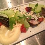 シトリーノ - 鯖の燻製とローストトマト