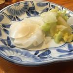 きよせ寿司 - お新香
