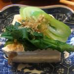 きよせ寿司 - ご常連さんの手作り豆腐