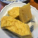 きよせ寿司 - 自家製卵焼き