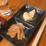 きよせ寿司 - お通し