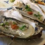 きよせ寿司 - 生牡蠣