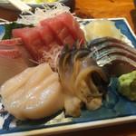 きよせ寿司 - お刺身の盛り合わせ