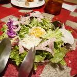 シチューとラクレットの店 cocotte - リヨン風サラダ