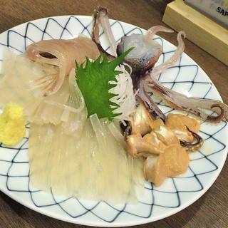 活魚料理 いか清 - 活き真イカ