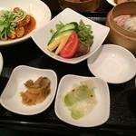 華琳 - 華琳(白身魚と野菜の甘酢あんかけ御膳)