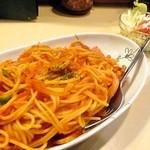 コロボックル - ナポリタン セットのサラダ