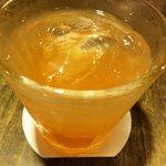 まんざら亭 - 庄内砂丘のいちご酒650円