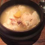 Kankokuanjupontochourinanha - 参鶏湯