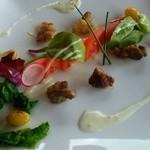 Risutorantetenkuu - 前菜