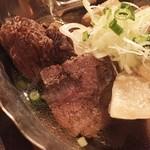 45642886 - 肉おでん盛り合わせ【オススメ】:牛ほほ肉