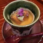 日本料理 ましの - 雲丹茶碗蒸し