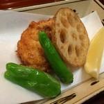 日本料理 ましの - 河豚唐揚