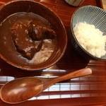 日本料理 ましの - 〆のビーフシチュー