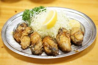 とんかつ 万平 - カキバター1750円
