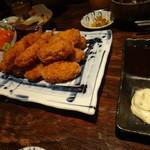 葱や平吉 - カキフライ