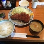 45649127 - 国産厳選豚ロースカツ定食
