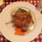 ビストロ フォンテーヌ - ランチ 若鶏のロースト