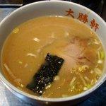 大阪 大勝軒 神山 - つけ麺並盛り¥750(スープ)