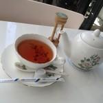 イングリッシュガーデン・ローズカフェ - 紅茶、5分計