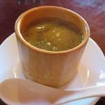 和華 - スープ:中台さんの芥菜と鶏肉の蒸しスープ