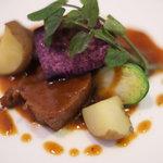 レストラン フィーネ - イベリコ豚のタン煮込み