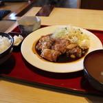 さらしん - 料理写真:鳥しょうが焼定食