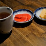 はじめ鮮魚店 - 海鮮丼の漬物