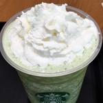 スターバックス コーヒー - ドリンク写真:抹茶クリームフラペチーノ 蓋なし