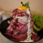 凌駕ドロップス - ローストビーフ丼~☆