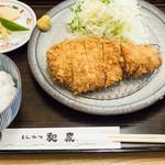 とんかつ和泉 - ロースカツ定食:1,500円/2015年12月