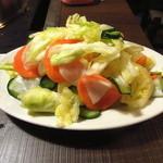 かき小屋 - 旬の野菜の「浅漬け」も〆には嬉しい一品