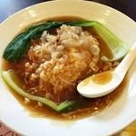 バーミヤン - 料理写真:フカヒレあんかご飯