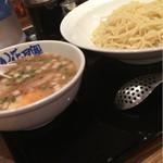らあめん花月嵐 - 普通の麺で、つけ麺