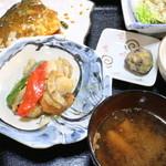 蔵 - 料理写真:ホタテバターとさば味噌 1100円税込