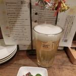 Kurafutobiamakettojimbouchouterasuten - 城端麦酒/ダージリン780円