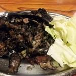 みやざき屋 - 骨付きもも焼¥1080 宮崎名物 地鶏の炭火焼きです