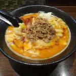 45666786 - 食べてラーきゃべつ坦々麺