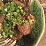 45667753 - 大皿料理  がめ煮  椎茸美味い